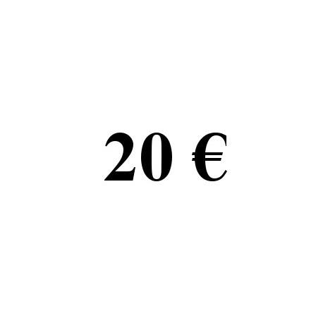 Faire un don de 20 euros