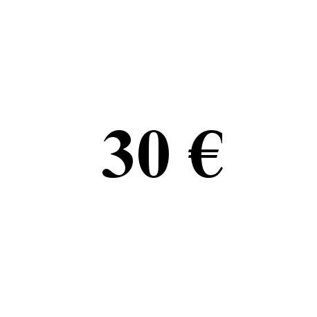 Faire un don de 30 euros
