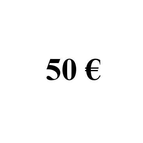 Faire un don de 50 euros