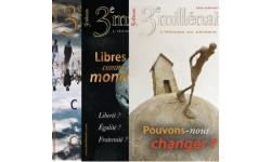 """Lot - """"Spiritualité et société"""" : N°94, 113 et 114"""