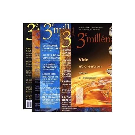 N°16, 24, 34, 39 et 71 : dossiers Astrologie/Dynamique des cycles/Création/Vide et Création