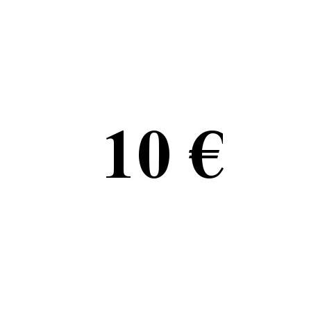 Faire un don de 10 euros