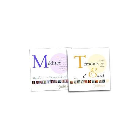 Lot - Livres Méditer et Témoins d'Eveil Tome 1
